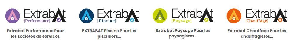 Le logiciel Extrabat, est un outil CRM pour les métiers du bâtiment, pisciniers, paysagistes, chauffagistes.